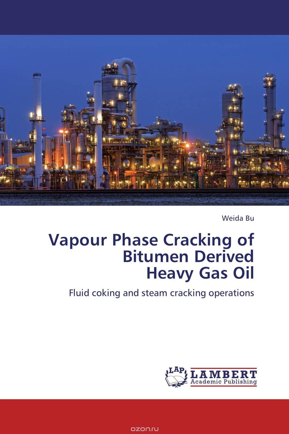 Vapour Phase Cracking of Bitumen Derived  Heavy Gas Oil